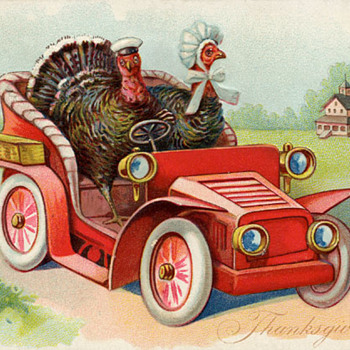 Happy Thanksgiving to those who celebrate it! - Postcards