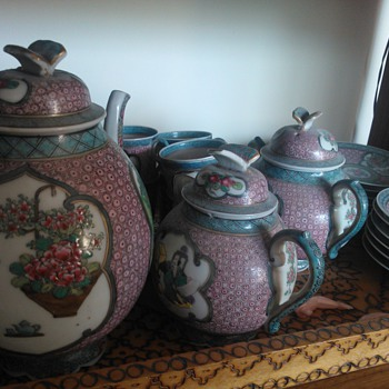 Oriental Tea-set. - China and Dinnerware