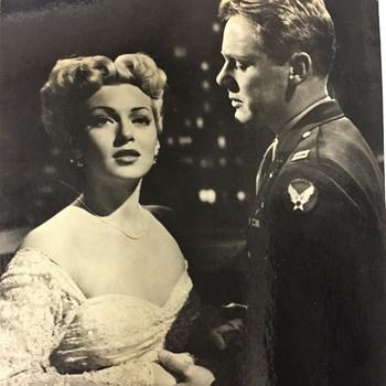 Vintage LANA TURNER & VAN JOHNSON Photo  from WEEKEND AT THE WALDORF