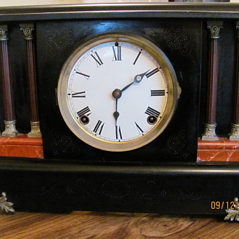 Antique Mantle Clock - Clocks