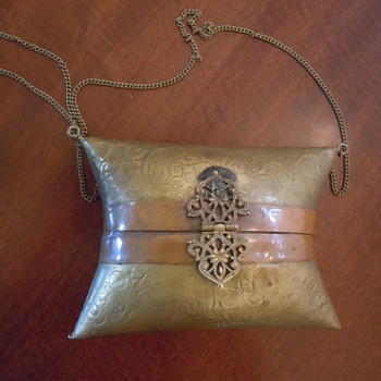 Brass and copper Purse. Help?!?