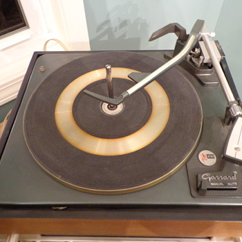 Vintage Garrard Turntable AT60 Gerrard Turntable  - Electronics