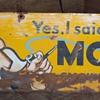 Model sign.