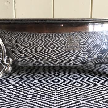 Mappin and Webb company tray ? Victorian