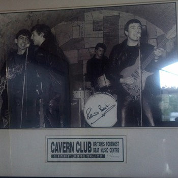 Beatles litho with Pete Best