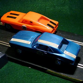Revell Camaro & Mustang Pairs - Came From a Race Set - Model Cars