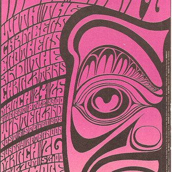 Split Fountain Moby Grape, by Wes Wilson