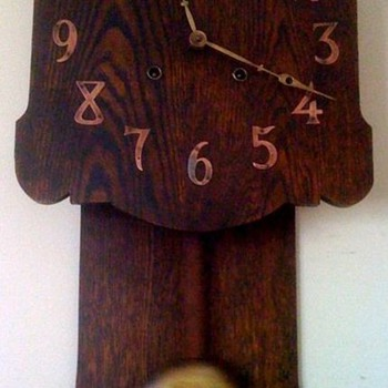 Mission style wall clock - Clocks