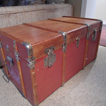 Late 50's French Trunk