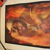 Dennis Rodman Thinker Pose Lithograph
