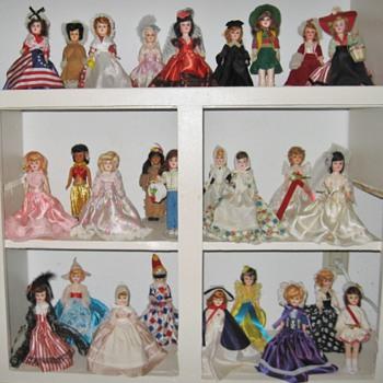"My Blue Bonnet Margarine ""American Heritage Dolls"" dolls"