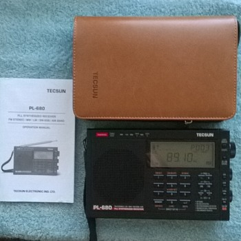 tecsun, pl-680, multiband radio, fm/am/sw/ssb/bfo/air band.