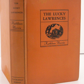 The Lucky Lawrences by Kathleen Norris, First Edition 1930 - Books