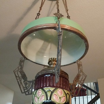 Show & Tell - Antique and Vintage Hanging Lamps ...