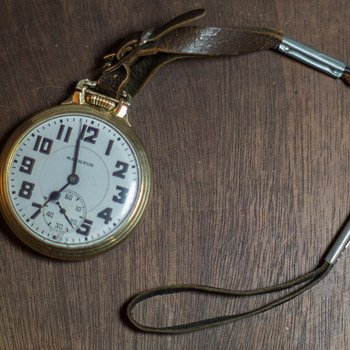 1936 Hamilton 992 Elinvar Railroad Pocket Watch