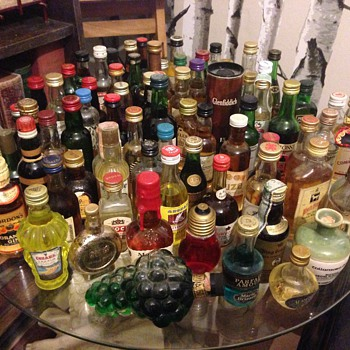 I don't really drink, collecting only:)