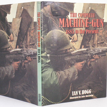 The Complete Machine-Gun 1885 to the Present - Books