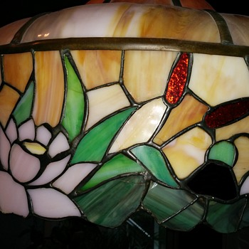 stained glass lighting