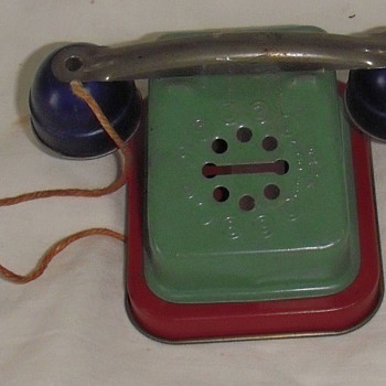 Toy telephone bank - Coin Operated