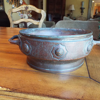 Unmarked Copper Bowl ? - Arts and Crafts