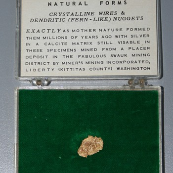 Dendritic gold nugget