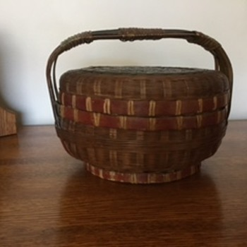 Native America basket in family for at least 80 years