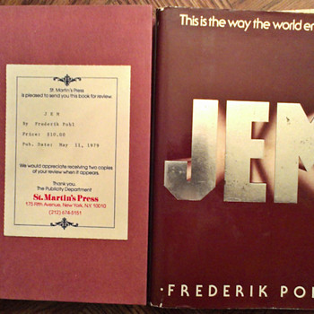 JEM by Frederik Pohl, signed