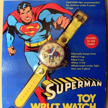 Marx Toy Superman Watch - Wristwatches