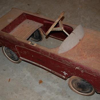 Mustang pedal car