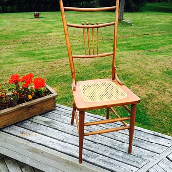 Cane seat chairs - Furniture