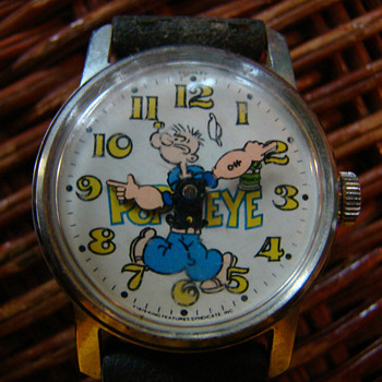 1974 Bradley Pop-Eye watch