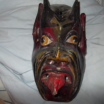 Mexican(?)Devil mask - Folk Art