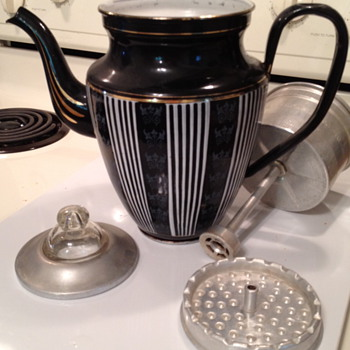 Vintage Coffee Percolator - Kitchen