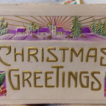 Christmas Greetings, 1913