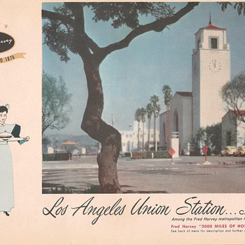 Harvey House Menus 1957 (part #2)