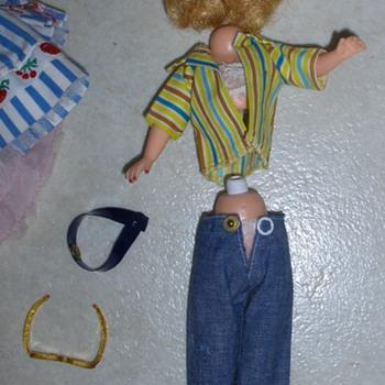 "Vintage 10.5"" Doll"
