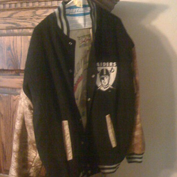 1967 OakLand Raiders superbowl Jacket