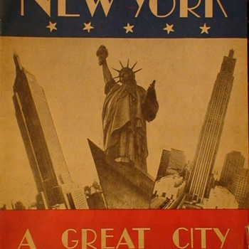 New York City Souvenir Book 1947 - Paper