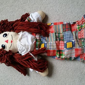 Childhood Raggedy Ann Found - Dolls