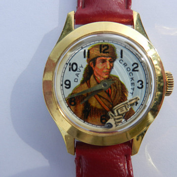 "Davy Crockett ""Animated"" Wrist Watch - Wristwatches"