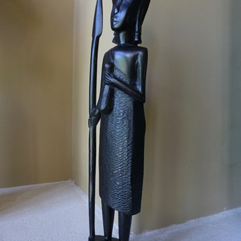 Hagenauer style African Wood statue