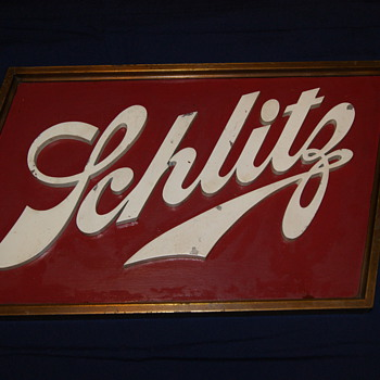 Schlitz Brewhouse Sign