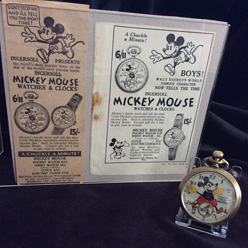 Original Mickey Mouse Adverts - Advertising