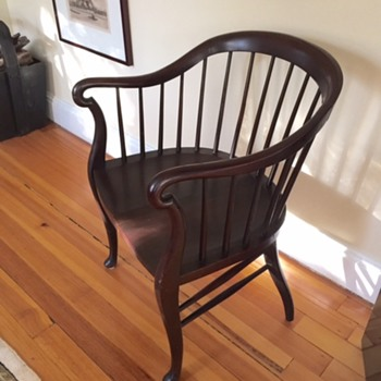 Looking for help identify this mystery chair I recently found...