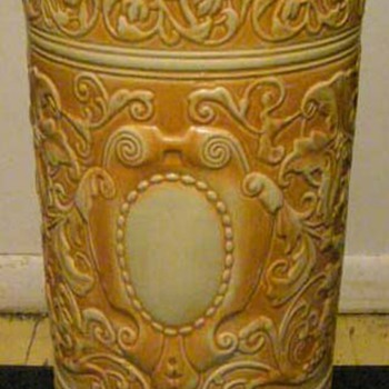 Weller Umbrella Stand? - Art Pottery