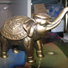 Brass elephant