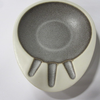 Hyalyn Porcelain Ashtray