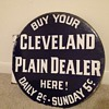 Cleveland Plain Dealer Sign