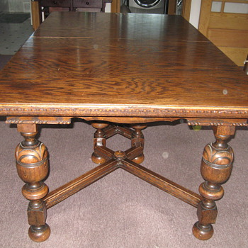 Brushaber Dining Table