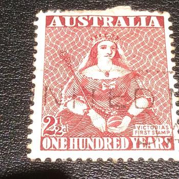 Rare Aussie stamp ?